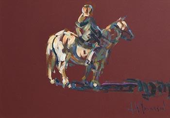 Arthur K. Maderson, Study, Tallow Horse Fair at Morgan O'Driscoll Art Auctions