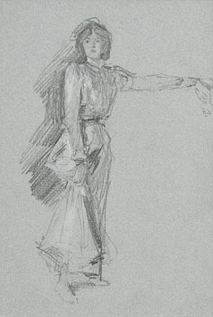 John Butler Yeats, Portrait of a Lady (possibly Hazel Lavery) at Morgan O'Driscoll Art Auctions