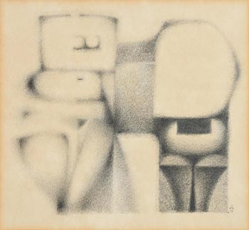 Colin Middleton, Two Figures (1963) at Morgan O'Driscoll Art Auctions