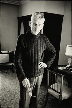 John Minihan, Samuel Beckett, Room 604, Hyde Park Hotel, London (1980) at Morgan O'Driscoll Art Auctions