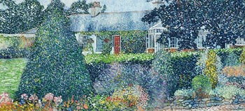 Victor Richardson, The Country Garden (1992) at Morgan O'Driscoll Art Auctions