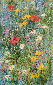 Kenneth Webb, Wild Flower Meadow at Morgan O'Driscoll Art Auctions