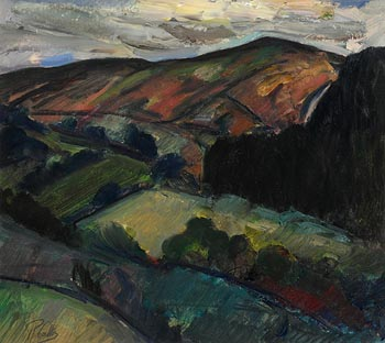 Peter Collis, Wicklow Mountains at Morgan O'Driscoll Art Auctions