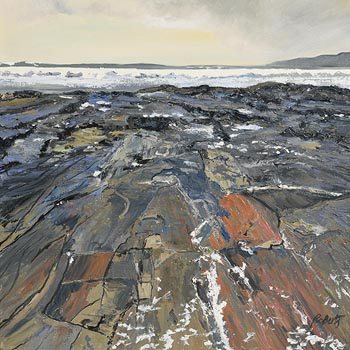Dorothee Roberts, Shaped by the Weight of Waves, Liscannor, Co. Clare at Morgan O'Driscoll Art Auctions