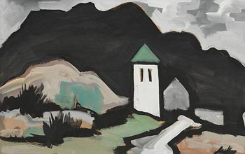 Markey Robinson, Landscape with White Tower at Morgan O'Driscoll Art Auctions