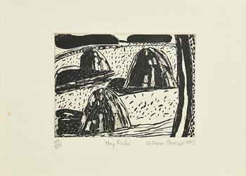 William Crozier, Hay Ricks (1993) at Morgan O'Driscoll Art Auctions