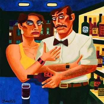 Graham Knuttel, Date Night at Morgan O'Driscoll Art Auctions