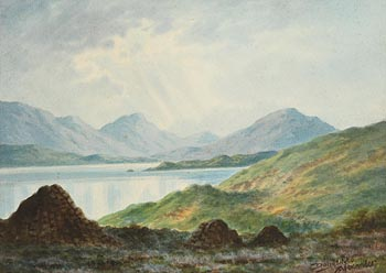 Douglas Alexander, Among the Donegal Mountains at Morgan O'Driscoll Art Auctions