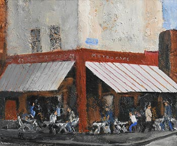 Harry Reid, Metro Cafe, Chatham Row, Dublin (2009) at Morgan O'Driscoll Art Auctions