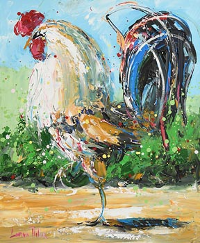 Lorna Millar, Cockerel at Morgan O'Driscoll Art Auctions