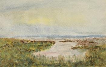 William Percy French, Connemara Landscape (1911) at Morgan O'Driscoll Art Auctions