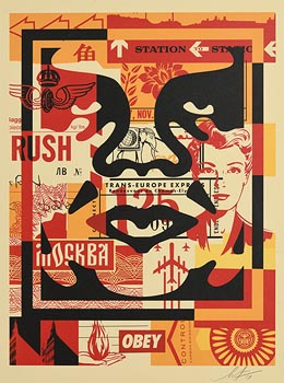 Shepard Fairey, Obey at Morgan O'Driscoll Art Auctions