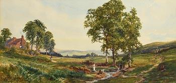 John Faulkner, Collecting Water at Morgan O'Driscoll Art Auctions