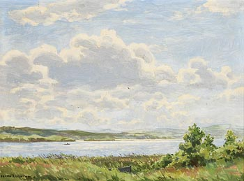 Frank J. Egginton, The New Lake, Dunfanaghy, Co. Donegal (1971) at Morgan O'Driscoll Art Auctions