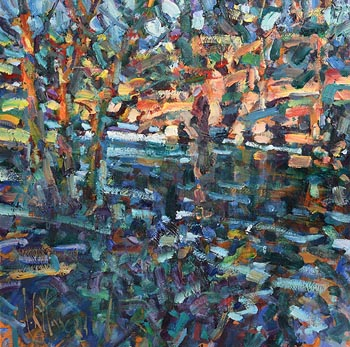 Arthur K. Maderson, Autumn Evening, Near Cappoquin at Morgan O'Driscoll Art Auctions