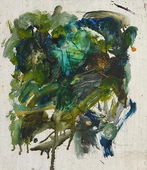 Barrie Cooke, Jungle III (1975) at Morgan O'Driscoll Art Auctions