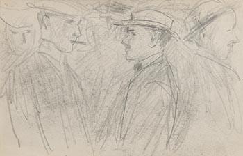 John Butler Yeats, The Gentlemen at Morgan O'Driscoll Art Auctions