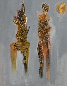 Gerald Davis, Sun Dance at Morgan O'Driscoll Art Auctions