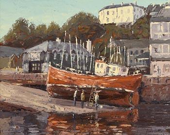 Ivan Sutton, Kinsale Slipwave at Morgan O'Driscoll Art Auctions