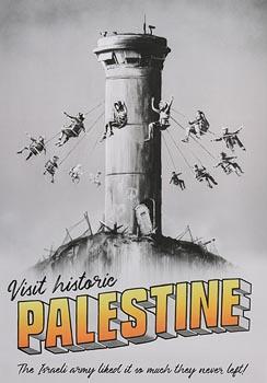Banksy, Palestine at Morgan O'Driscoll Art Auctions