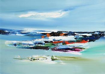 Majella O'Neill Collins, Sherkin Island Seas (2019) at Morgan O'Driscoll Art Auctions