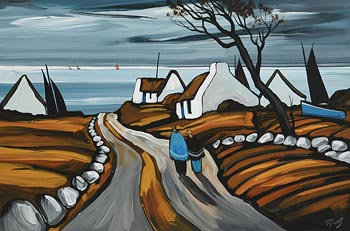 J.P. Rooney, Heading Down to the Sea at Morgan O'Driscoll Art Auctions