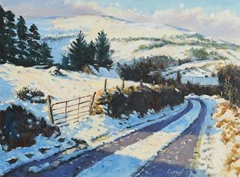 Fergal Flanagan, Winter Landscape at Morgan O'Driscoll Art Auctions