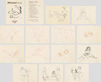 John Lennon, Bag One (1970) at Morgan O'Driscoll Art Auctions