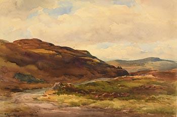 Wycliffe Egginton, Western Landscape at Morgan O'Driscoll Art Auctions
