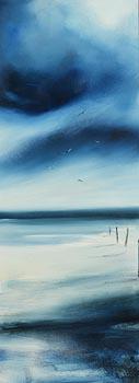 Paula McKinney, Blue Horizon at Morgan O'Driscoll Art Auctions