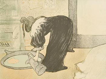 Henri De Toulouse-Lautrec, Le Tub at Morgan O'Driscoll Art Auctions