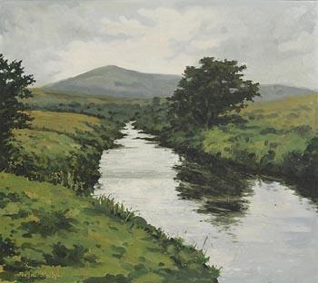 Fergal Nally, Near Achill Sound at Morgan O'Driscoll Art Auctions