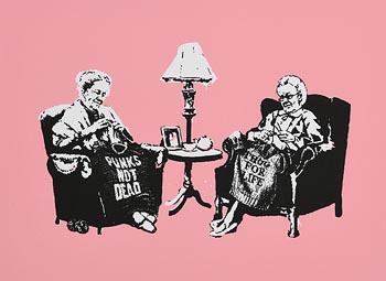Banksy, Grannies at Morgan O'Driscoll Art Auctions