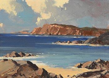 George K. Gillespie, Coastal Scene at Morgan O'Driscoll Art Auctions