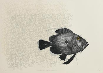 Peter Jones, Like a Fish Out of Water II at Morgan O'Driscoll Art Auctions