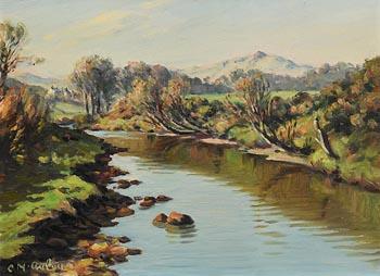 Charles J. McAuley, Dall River, Cushendall at Morgan O'Driscoll Art Auctions