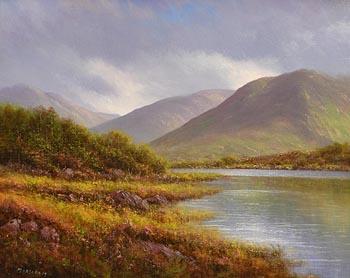 Gerard Marjoram, Kylemore Lake at Morgan O'Driscoll Art Auctions