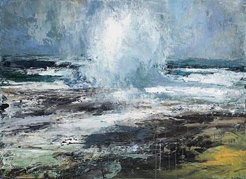 Donald Teskey, Coastal Report at Morgan O'Driscoll Art Auctions