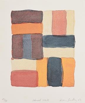 Sean Scully, Coloured Wall (2003) at Morgan O'Driscoll Art Auctions