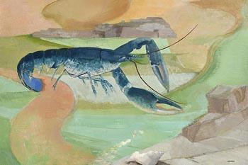 Barbara Warren, Galway Lobster at Morgan O'Driscoll Art Auctions