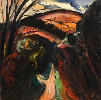 Peter Collis, Knockree at Morgan O'Driscoll Art Auctions