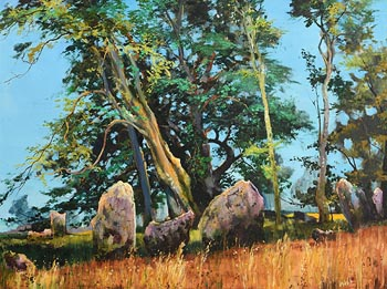 Kenneth Webb, Ancestral Voices near Cong, Co. Mayo at Morgan O'Driscoll Art Auctions