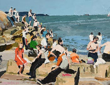Stephen Cullen, Summer is Here at Morgan O'Driscoll Art Auctions