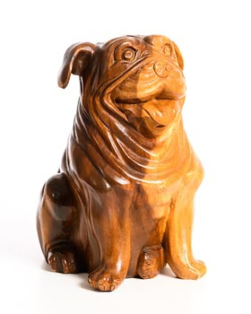 20th Century Continental School, Pug at Morgan O'Driscoll Art Auctions