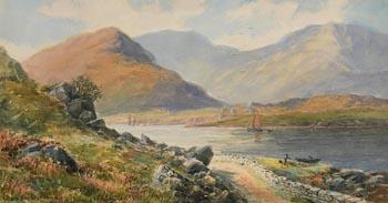 Alexander Williams, Killary Bay, Connemara at Morgan O'Driscoll Art Auctions