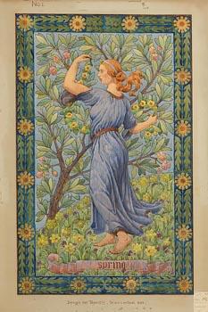 Francis Fitzharris, Spring at Morgan O'Driscoll Art Auctions