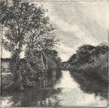 Michael Wann, Riverside 5 at Morgan O'Driscoll Art Auctions