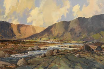George K. Gillespie, Sheffrey Hills, Louisburgh, Connemara at Morgan O'Driscoll Art Auctions
