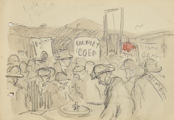 Jack Butler Yeats, Cockney Coen at Morgan O'Driscoll Art Auctions