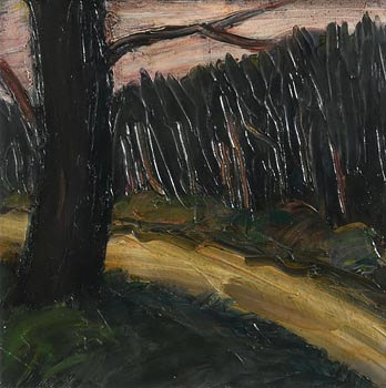 Peter Collis, Winter Trees, Wicklow at Morgan O'Driscoll Art Auctions